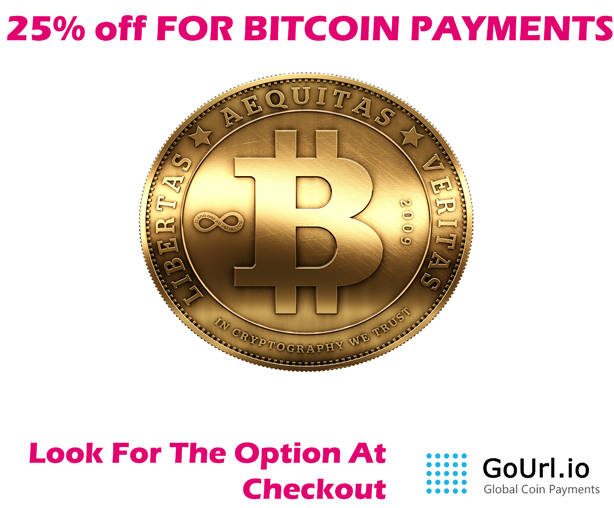 Discount For Bitcoin And Bitcoin Cash