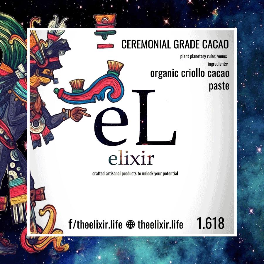 Ceremonial Grade Criollo Cacao